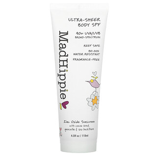 Mad Hippie Skin Care Products, Ultra-Sheer Body SPF, 40+, 4 fl oz (118 ml)