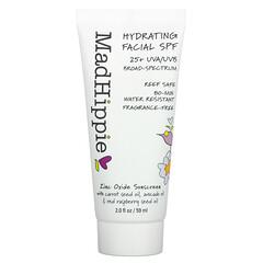 Mad Hippie Skin Care Products, 面部補水 SPF 25+,無香,2 液量盎司(59 毫升)