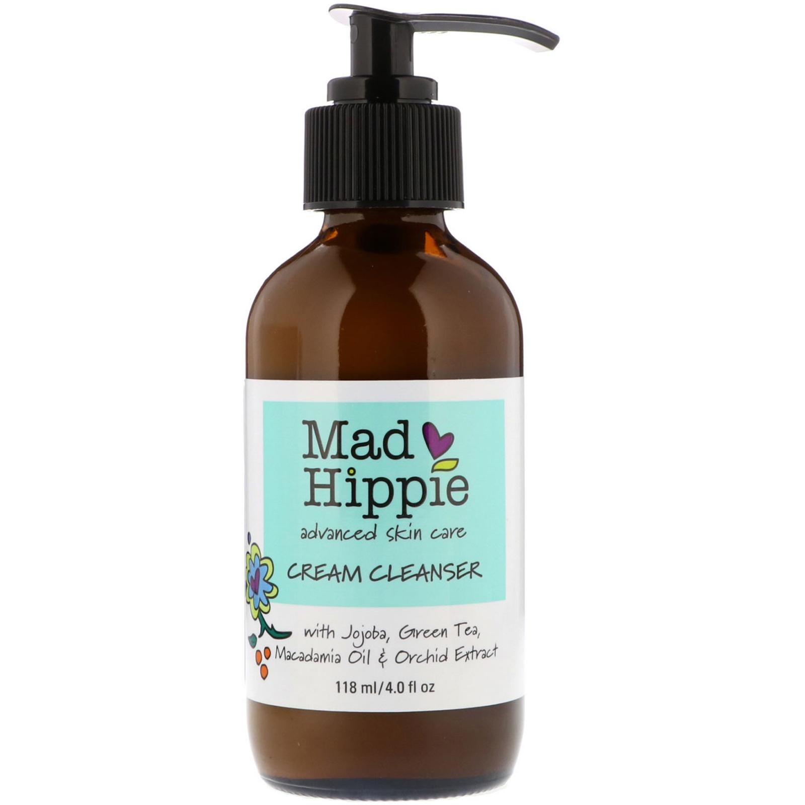 Mad Hippie Cream Cleanser, Normal to Dry Skin 4 fl oz (118 ml) Suki Skincare Nourishing Day Cream 1 oz