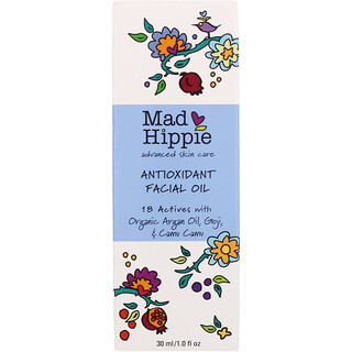 Mad Hippie Skin Care Products, Aceite facial antioxidante, 1.0 fl oz (30 ml)