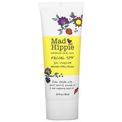 Mad Hippie Skin Care Products, UVA/UVB 多面面部抗曬劑,SPF 30+,2.0 盎司(59 克)