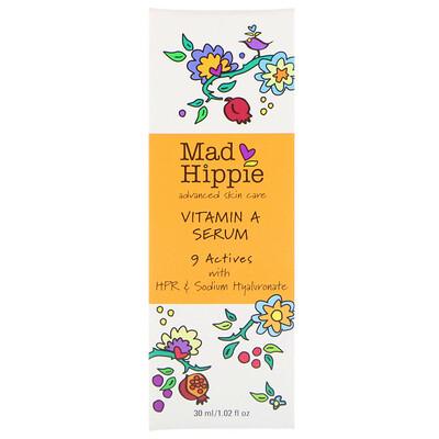 Купить Mad Hippie Skin Care Products Сыворотка с витамином A, 1, 02 жидкая унция (30 мл)