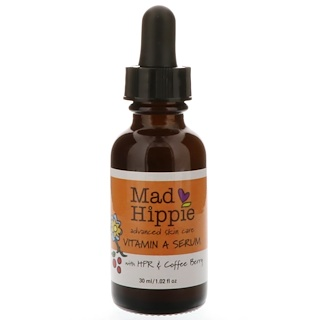 Mad Hippie Skin Care Products, 비타민 A 세럼, 1.02 액량 온스 (30 ml)