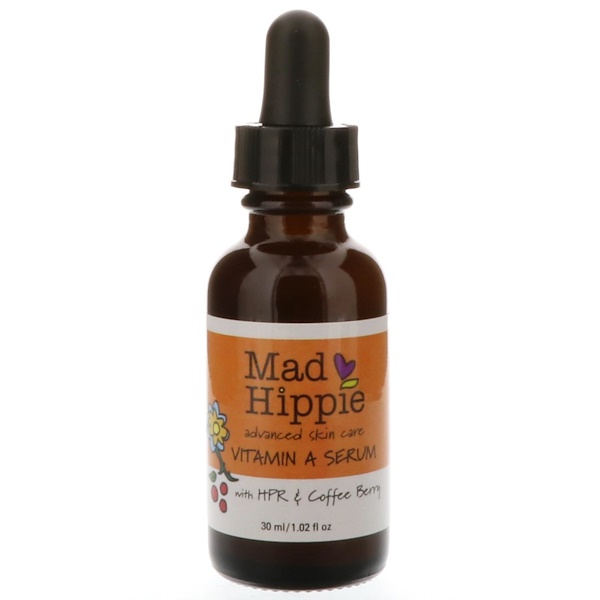 Mad Hippie Skin Care Products, Vitamin A Serum, 1.02 fl oz (30 ml)
