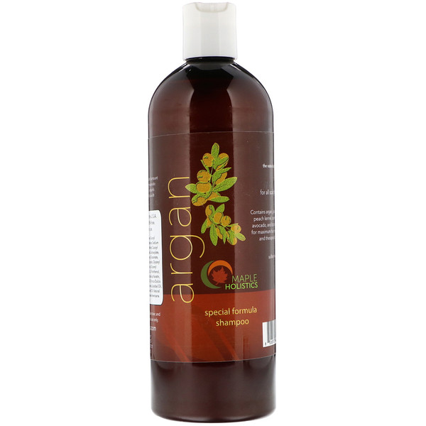 Maple Holistics, Argan, Special Formula Shampoo, 16 oz (473 ml) (Discontinued Item)
