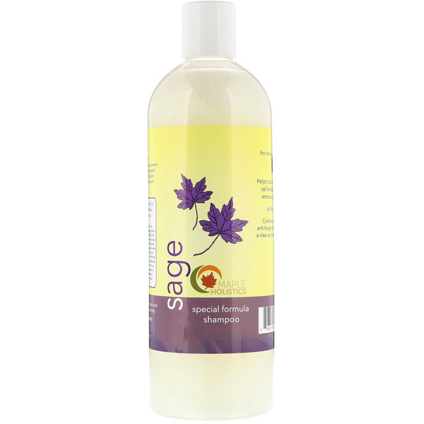 Maple Holistics, Sage, Special Formula Shampoo, 16 oz (473 ml) (Discontinued Item)