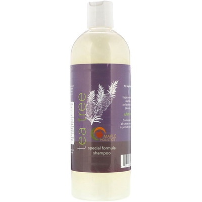 Maple Holistics Tea Tree, Special Formula Shampoo, 16 oz (473 ml)
