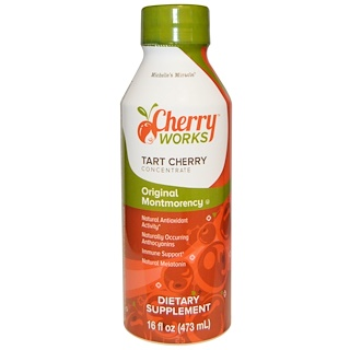 Michelle's Miracle, Original Montmorency,Tart Cherry Concentrate, 16 fl oz (473 ml)