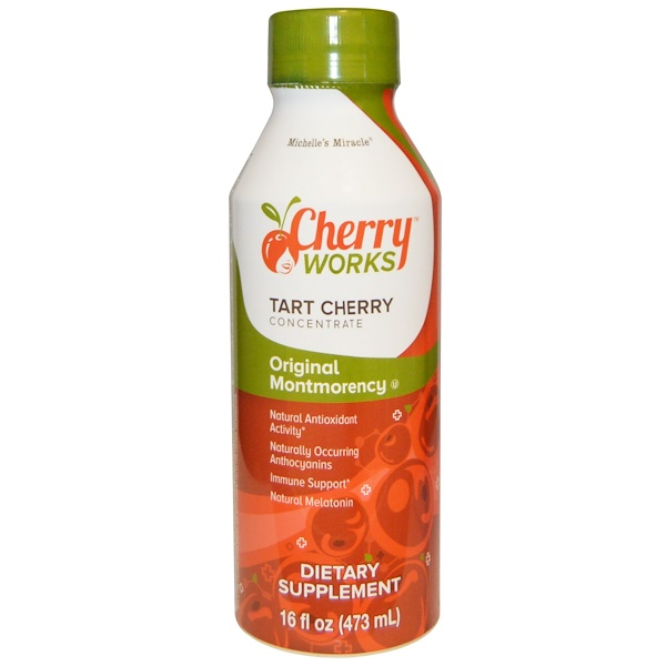 Michelle's Miracle, Original Montmorency,Tart Cherry Concentrate, 16 fl oz (473 ml) (Discontinued Item)