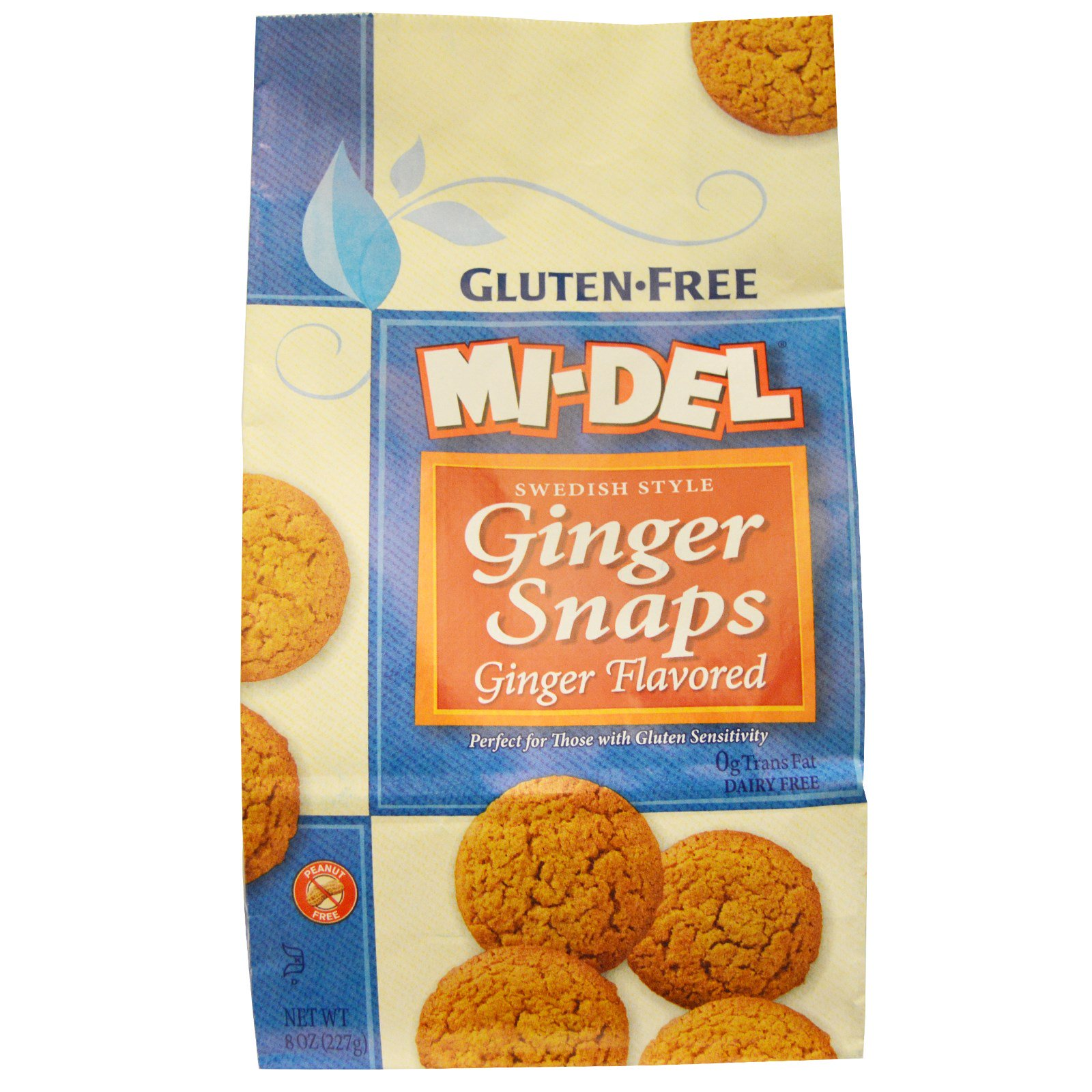 Mi-Del Cookies, Swedish Style Ginger Snaps, Ginger ...