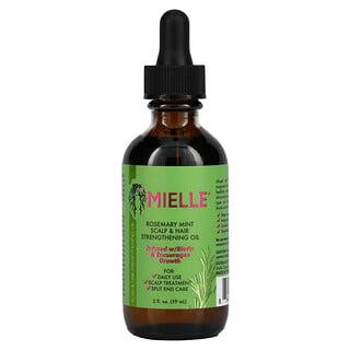 Mielle, Scalp & Hair Strengthening Oil, Rosemary Mint, 2 fl oz (59 ml)