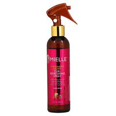 Mielle, 卷發清爽噴霧,石榴和蜂蜜香,8 液量盎司(240 毫升)