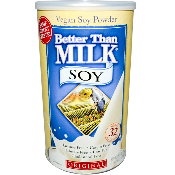 Better Than Milk, Vegan Soy Powder, Original, 1.61 lbs (736 g)