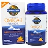 Minami Nutrition, Supercritical, Omega-3 Fish Oil, 850 mg, Orange Flavor, 60 Softgels
