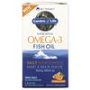 Minami Nutrition, Сверхкритический, Omega-3 Fish Oil, 850 мг, апельсиновый вкус, 120 гелевых капсул в каждой упаковке