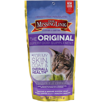 The Original Superfood Supplement, Powder Formula, For Cats, 6 oz (170 g)