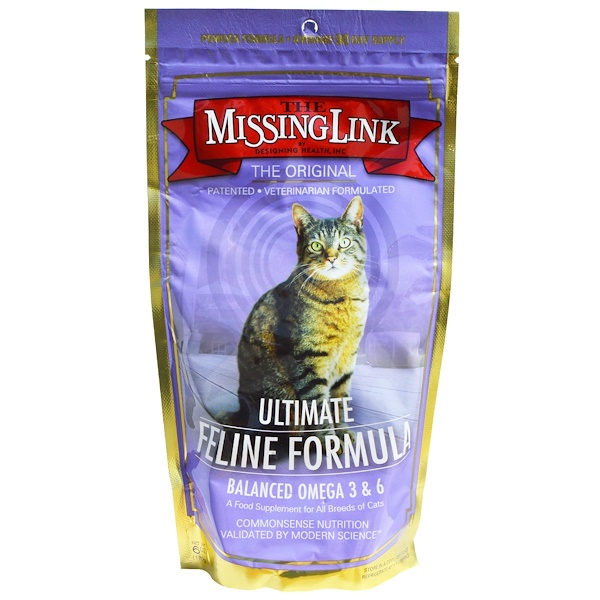 The Missing Link, Ultimate Feline Formula, For Cats, 6 oz (170 g)