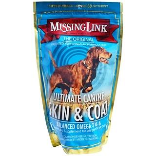 The Missing Link, ультимативный пёс, средство для кожи и шерсти, для собак, 454 г (1 фунт)