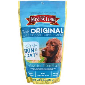 Де миссинг линк, The Original Superfood Supplement, Powder Formula, For Dogs, 1 lb (454 g) отзывы