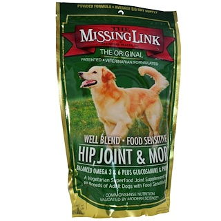 The Missing Link, Well Blend Food Sensitive, Hip, Joint & More, For Dogs, 1 lb (454 g)