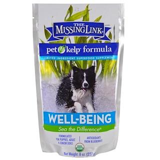 The Missing Link, Формула из бурых водорослей для домашних животных, благополучие, для собак, 227 г (8 унций)