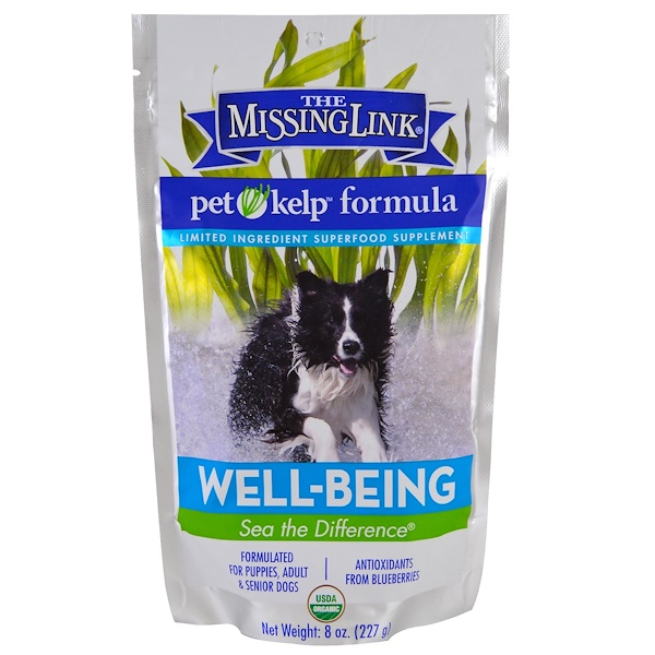 The Missing Link, Pet Kelp Formula, Well-Being, For Dogs, 8 oz (227 g)