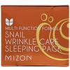 Mizon, Snail Wrinkle Care Sleeping Pack, 2.7 fl oz (80 ml)