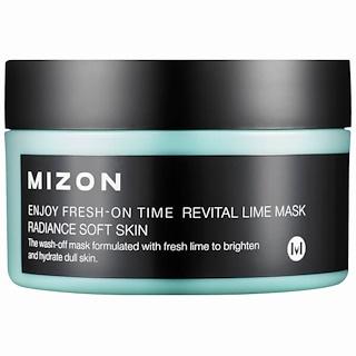Mizon, Disfrute un momento fresco, Máscara revitalizante de lima, 3.38 fl oz (100 ml)