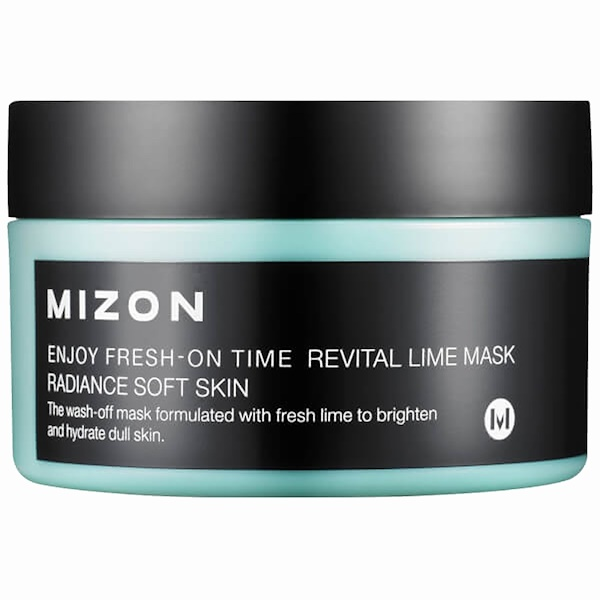 Mizon, Enjoy Fresh-On Time, Revital Lime Mask, 3.38 fl oz (100 ml) (Discontinued Item)