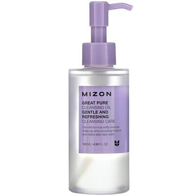 Mizon Great Pure Cleansing Oil, 4.90 fl oz (145 ml)