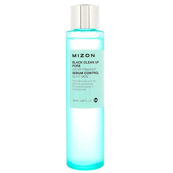 Mizon, Black Clean Up Pore Water Finisher, 5.07 fl oz (150 ml) (Discontinued Item)
