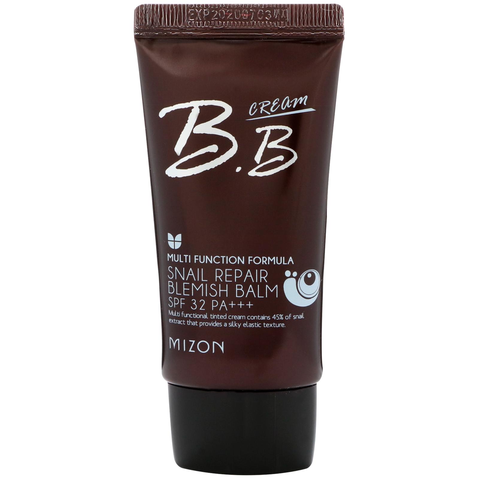 Mizon Snail Repair Blemish Balm Bb Cream Spf 32 Rose Beige 169 Intensive Ampoule 30ml