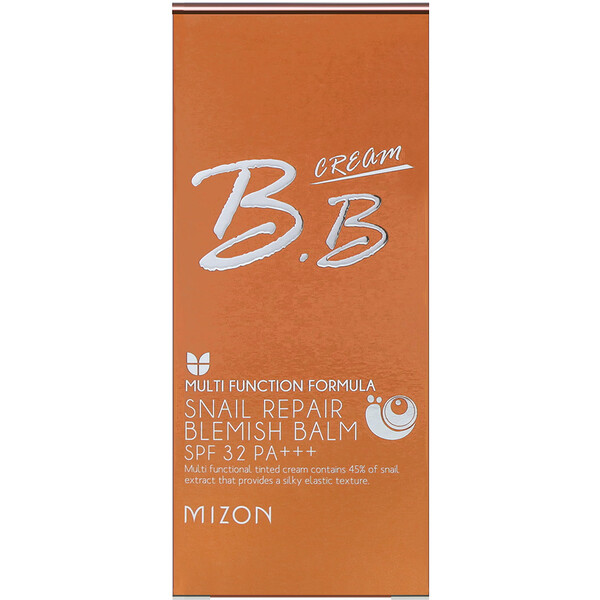 Mizon, Snail Repair Blemish Balm, BB Cream SPF 32, Rose Beige, 1.69 fl oz (50 ml)