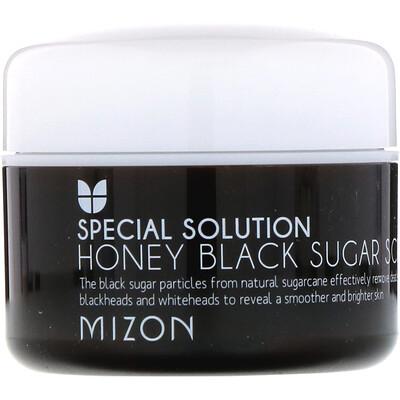 Купить Mizon Медовый черный сахарный скраб, 3, 17 унции (90 г)