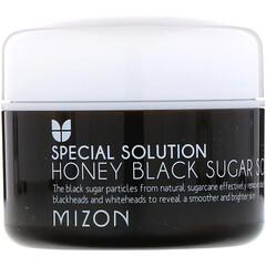 Mizon, 蜂蜜黑糖去角質磨砂膏,3.17盎司(90克)