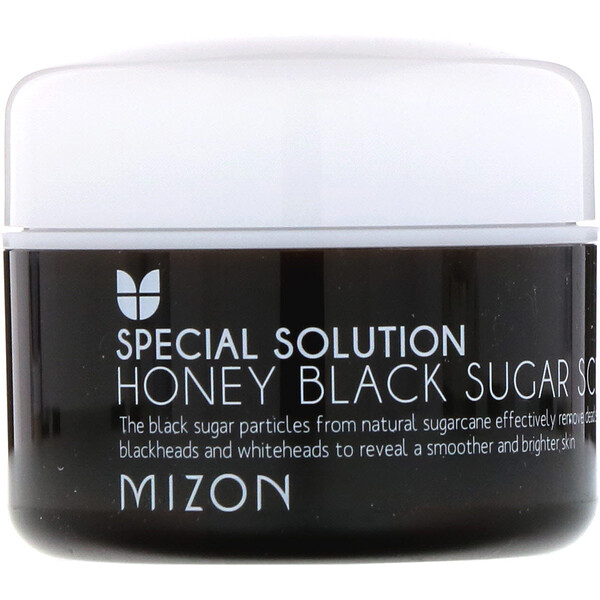 Honey Black Sugar Scrub, 3.17 oz (90 g)