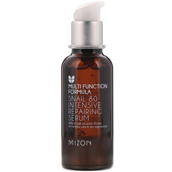 Mizon, Snail 80 Intensive Repairing Serum, 1.69 fl oz (50 ml) (Discontinued Item)