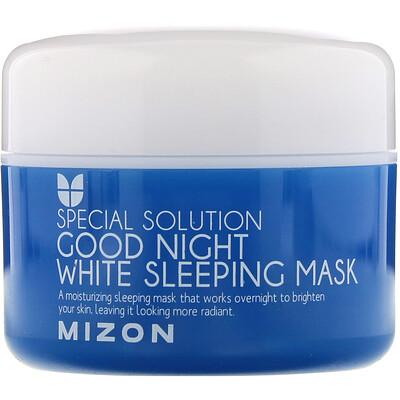 Купить Mizon Special Solution, Good Night White Sleeping Mask, 2.70 fl oz (80 ml)