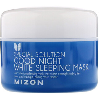 Mizon, Special Solution, Good Night White Beauty Sleeping Mask, 2.70 fl oz (80 ml)
