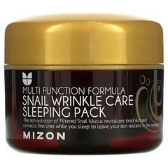 Mizon, 蝸牛皺紋護理睡眠面膜,2.70 液量盎司(80 毫升)
