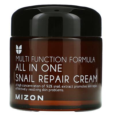 Mizon All In One Snail Repair Cream, 2.53 fl oz (75 ml)