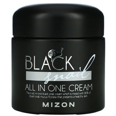 Mizon Black Snail, All In One Cream, 2.53 fl oz (75 ml)