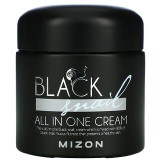 Mizon, универсальный крем из черной улитки, 5мл (2,53жидк. унций)