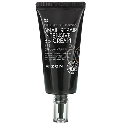 Mizon Snail Repair Intensive BB Cream, SPF 50+ PA+++, #31, 1.76 oz (50 ml)