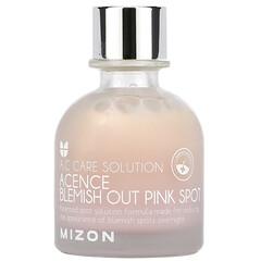 Mizon, A.C 護理液,Acence Blemish Out Pink Spot,1.01 液量盎司(30 毫升)
