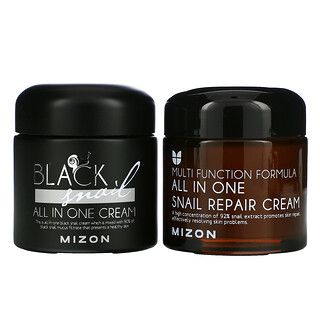 Mizon, All In One, Colorful Youth, Snail, 2 Piece Set