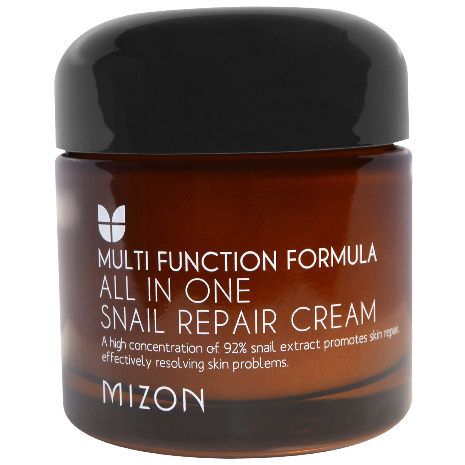 Mizon All In One Snail Repair Cream 253 Oz 75 Ml Iherbcom Intensive Ampoule 30ml