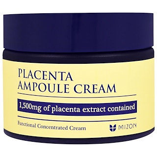 Mizon, Placenta Ampoule Cream, 1.69 oz (50 ml)