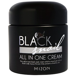 Mizon, Crema Todo-En-Uno Black Snail - 2,53 fl oz (75 ml)