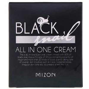 Мизон, Black Snail, All In One Cream, 2.53 fl oz (75 ml) отзывы покупателей